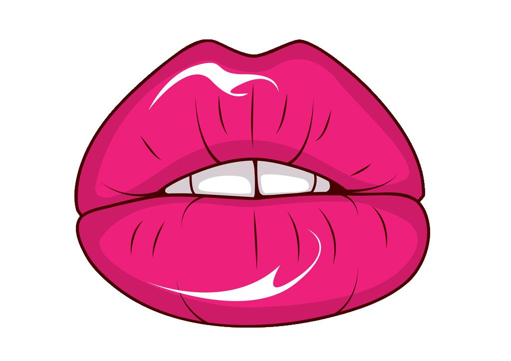 Lips freevector sexy vector. Lipstick clipart icon