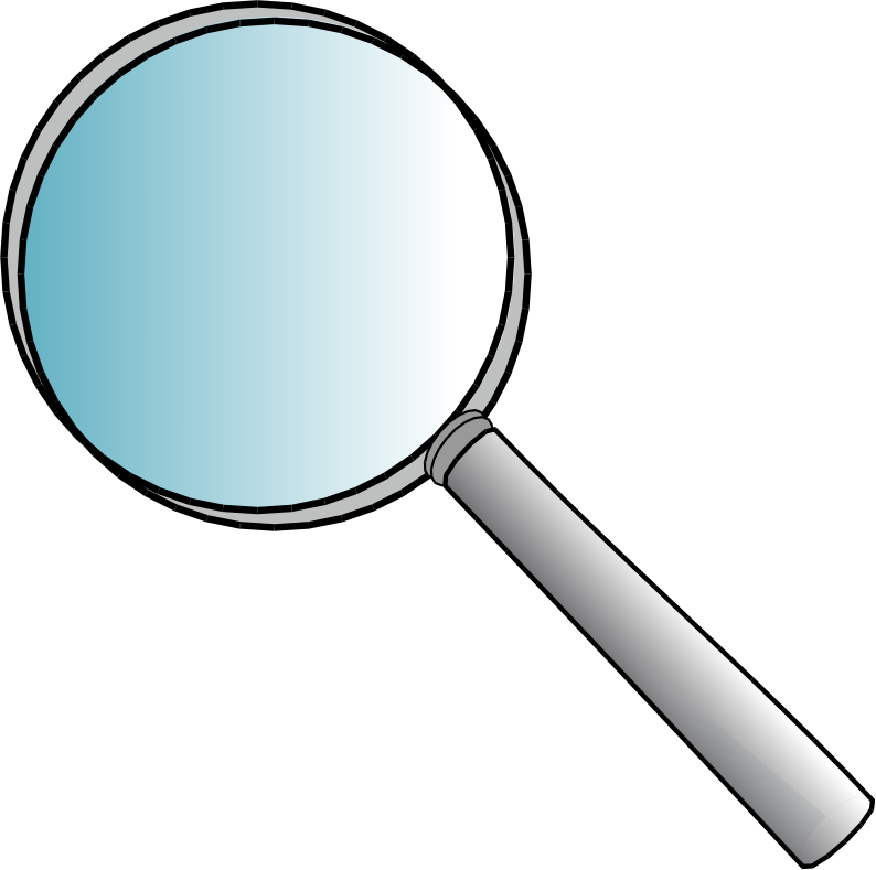 Clipart eye magnifying glass. Images of book spacehero