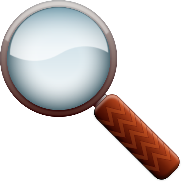 Magnifying glass at getdrawings. Detective clipart magnifier
