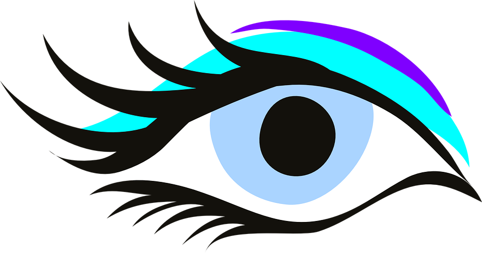 Eyelash clipart women's eye. Mascara trick revealed by
