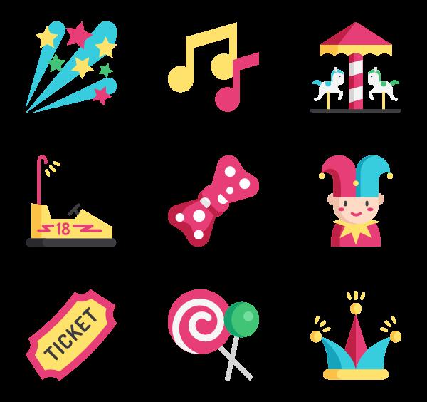 Eye icons free vector. Monkeys clipart carnival