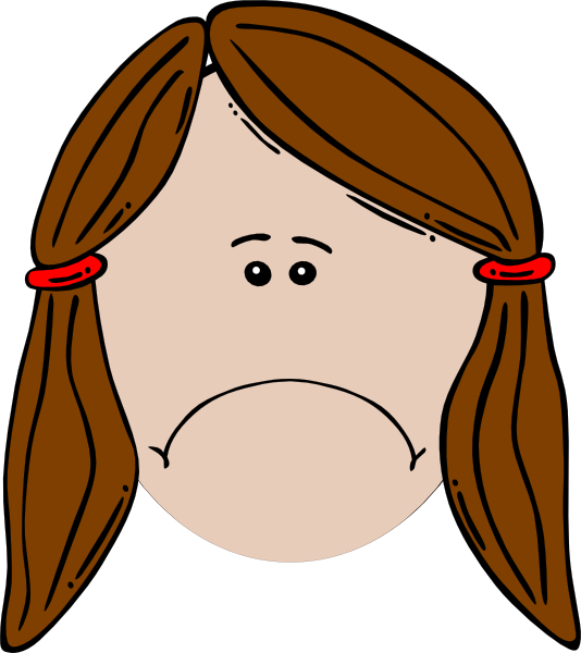 Monkey face clip art. Employee clipart sad