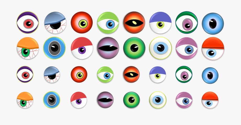 Eye clip art eyes. Eyeball clipart monster eyeball