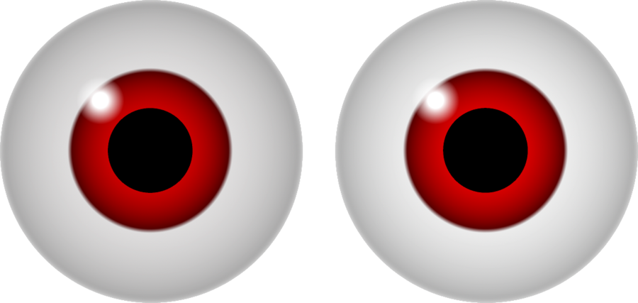 collection of creepy. Eyeball clipart eye surgery