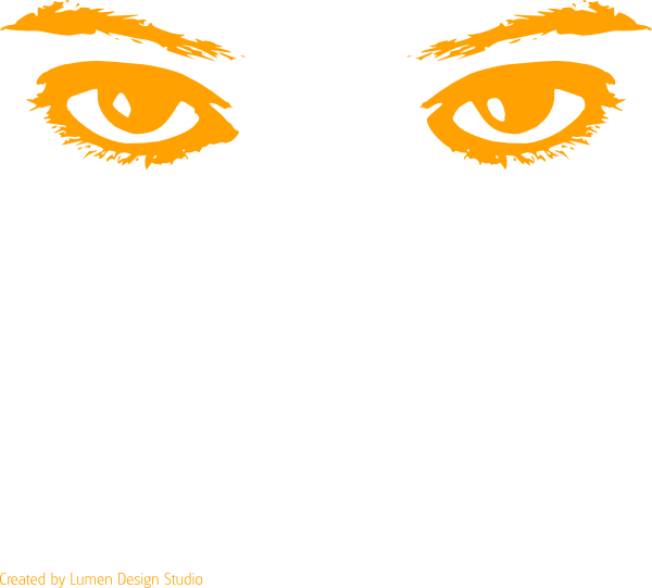 Eyes clip art at. Clipart eye orange