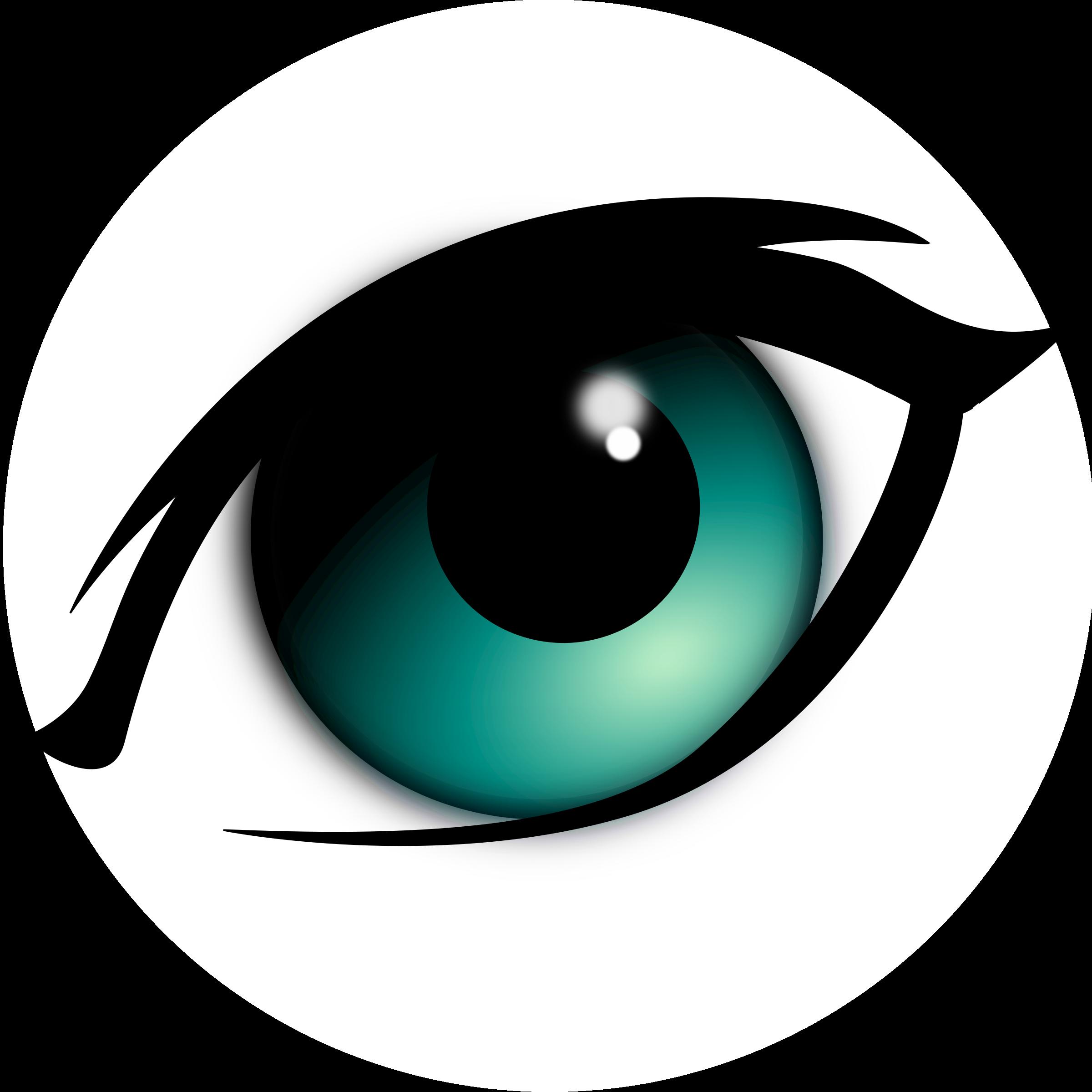 Narrowhouse cartoon eye remix. Eyes clipart outline