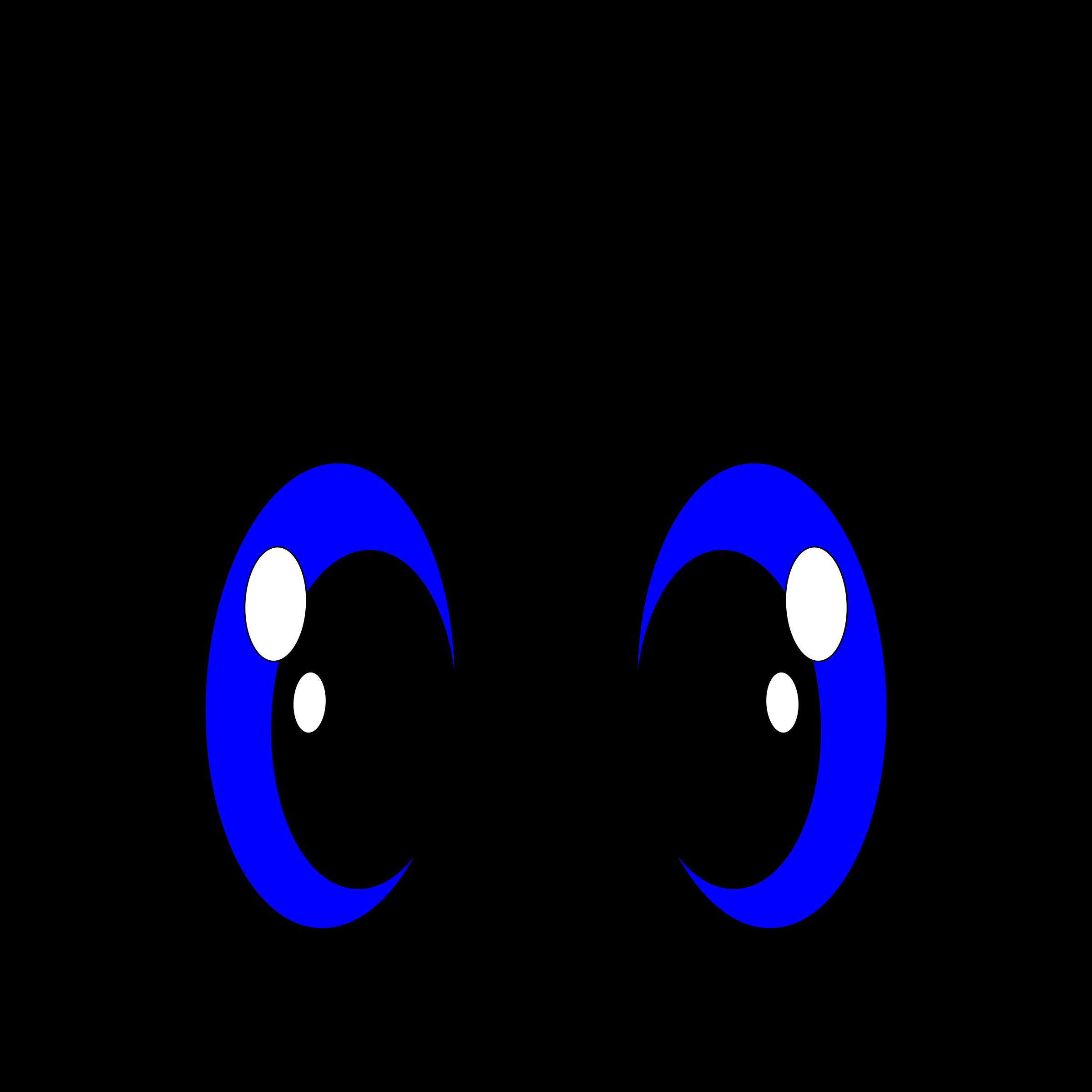 Free reindeer eyes cliparts. Eyeball clipart large