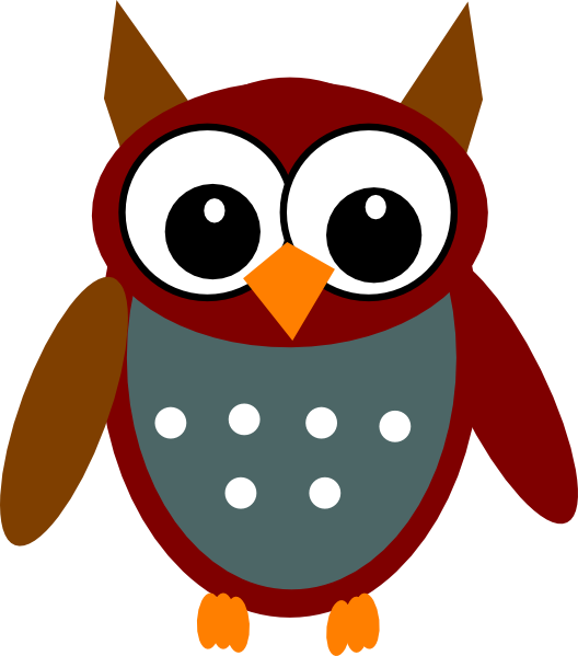 Brown teal clip art. Eyes clipart owl