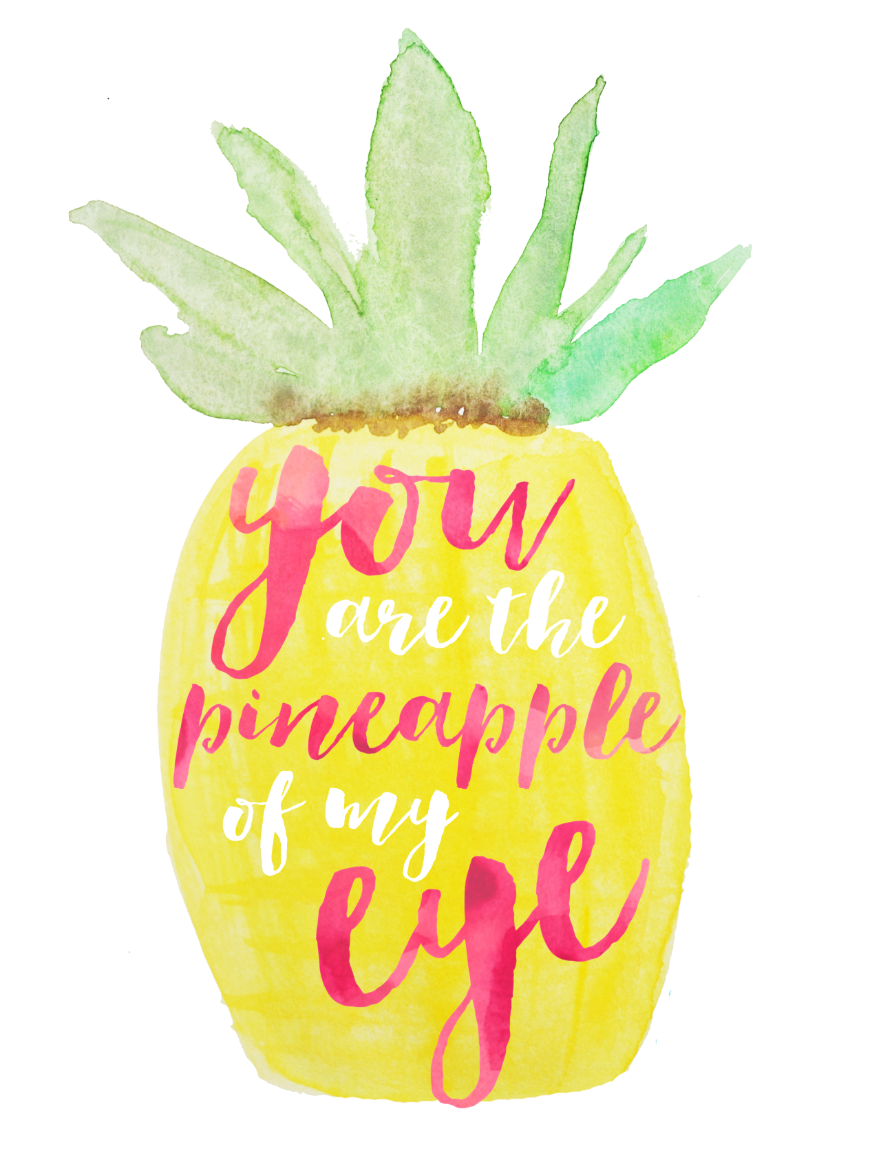 You are the of. Happy clipart pineapple