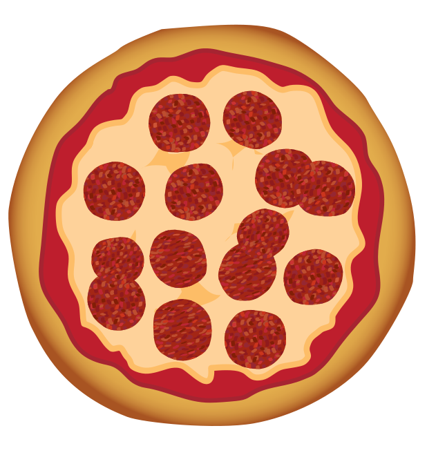 Pizza clip art free. Fractions clipart cake