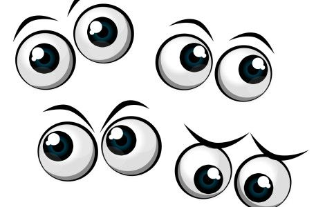 Eyes clipart printable. Free eye silhouette cliparts