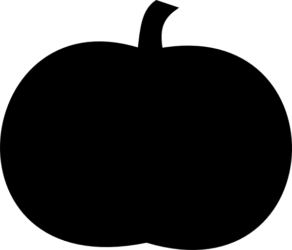 Clipart tree pumpkin. Black clip art at