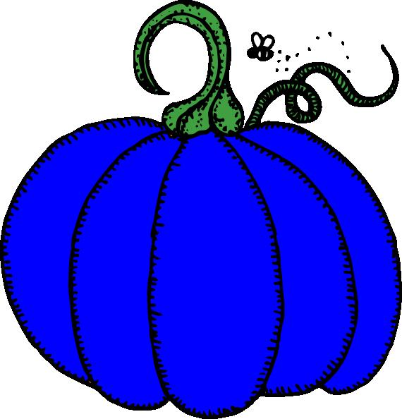 Clipart pumpkin bag. Blue clip art at