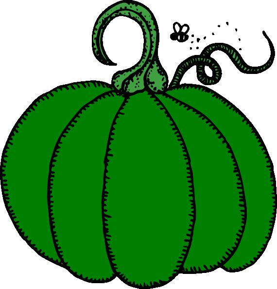 Green clip art at. Pumpkin clipart pumkin