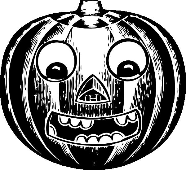 Jack o lantern with. Eye clipart pumpkin