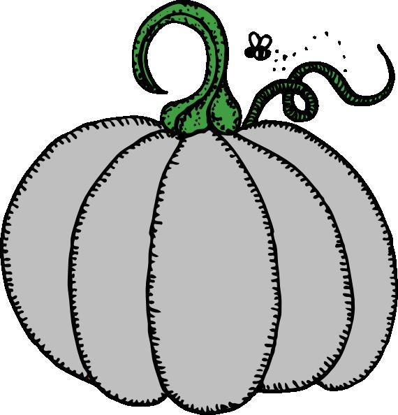 Gray clip art at. Clipart pumpkin gourd