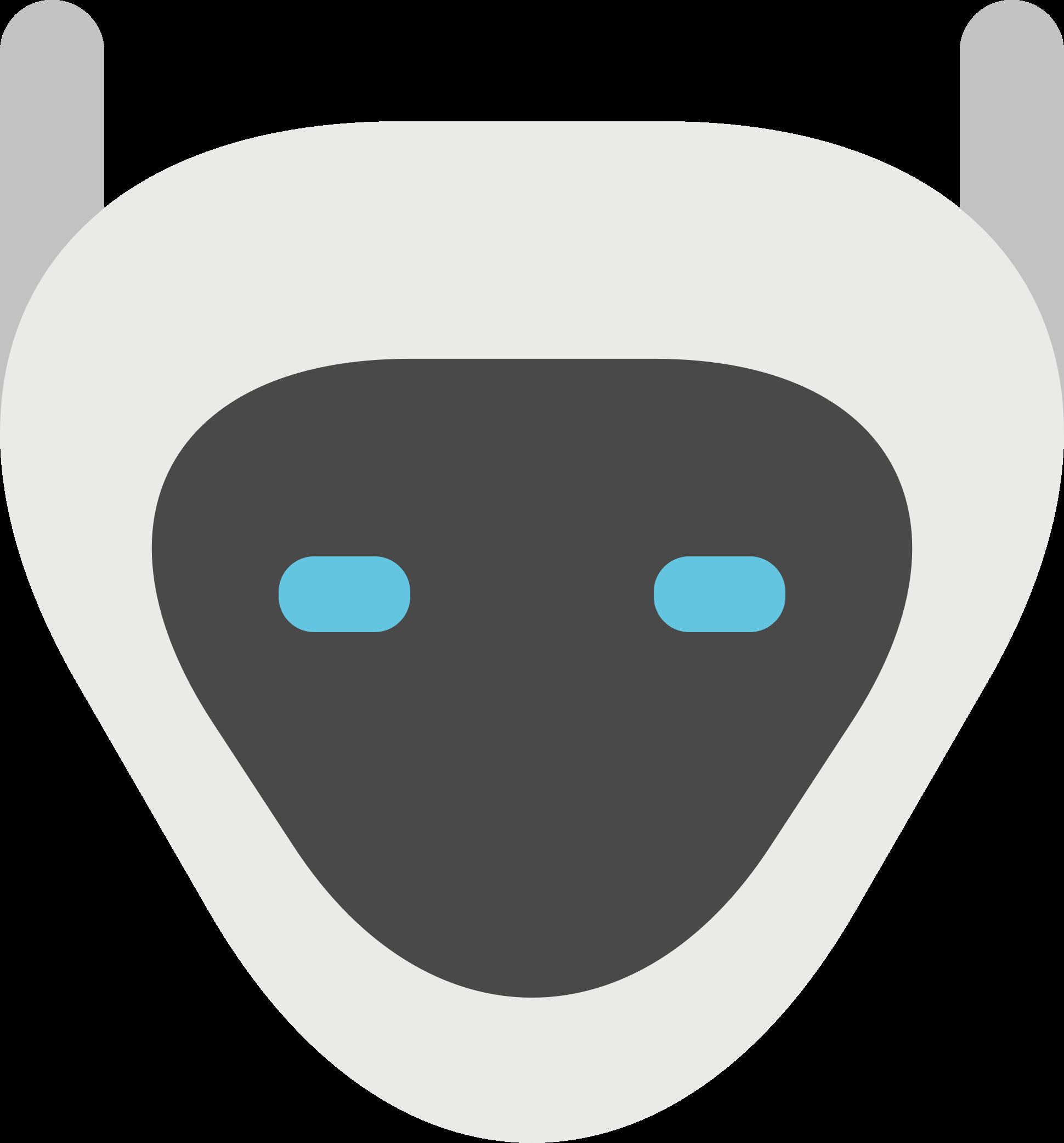 Clipart eye robot. Head big image png