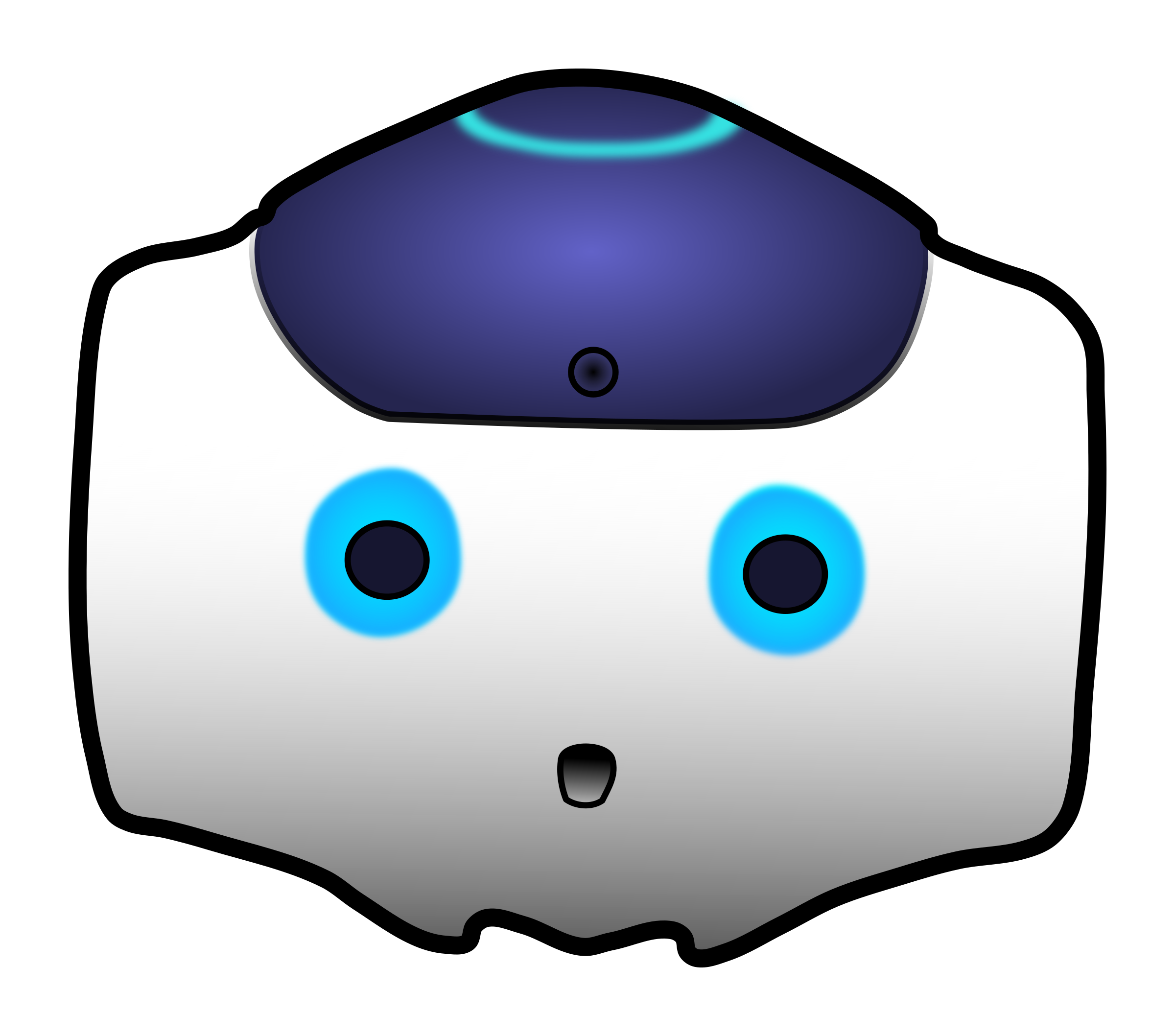 Picture clipart head. Of nao robot big