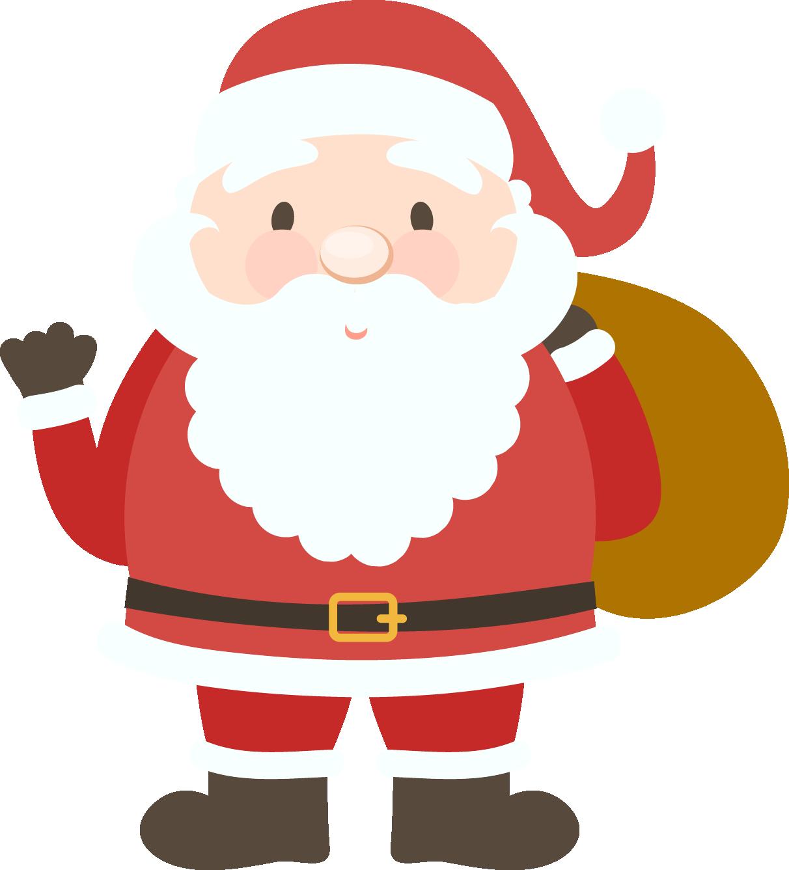 Santa clipart football. Claus png transparent free