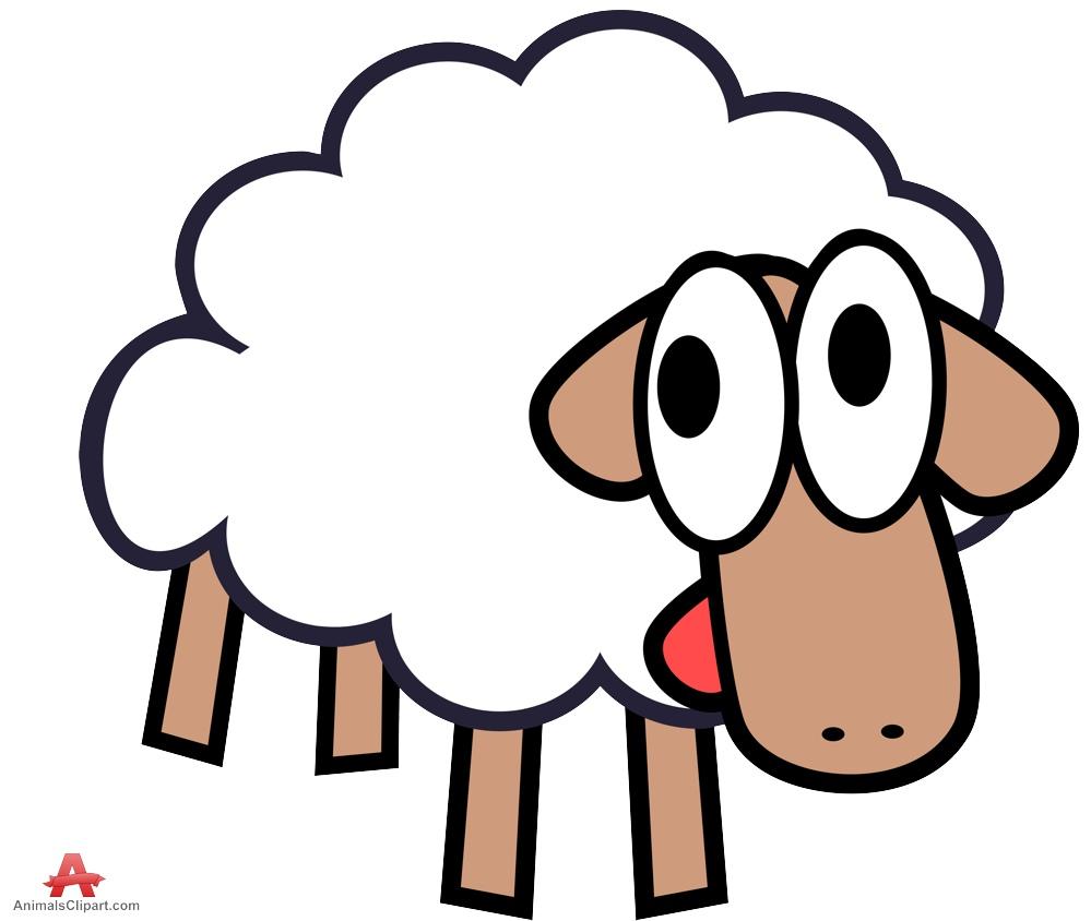 Lamb clipart simple. Sheep clip art download