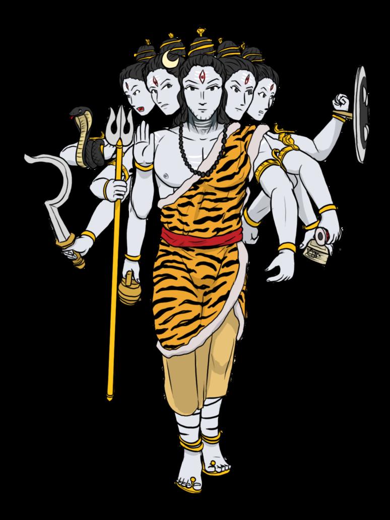 Flute clipart little krishna. Panchmukhi mahadev by vachalenxeon