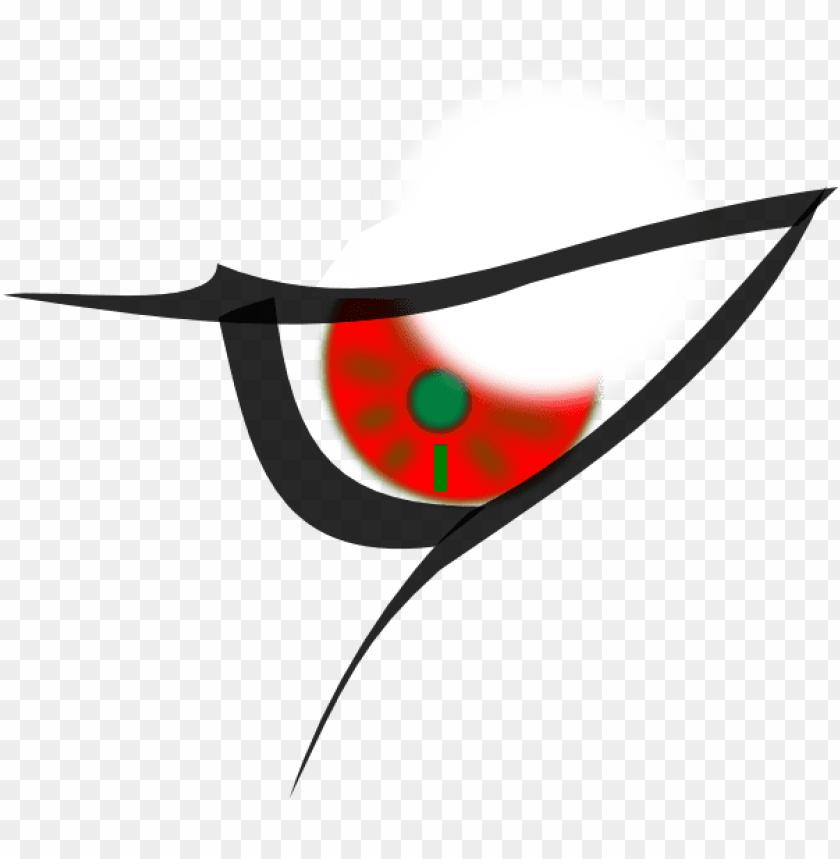 Eyeballs clipart side view. Cartoon evil eyes png