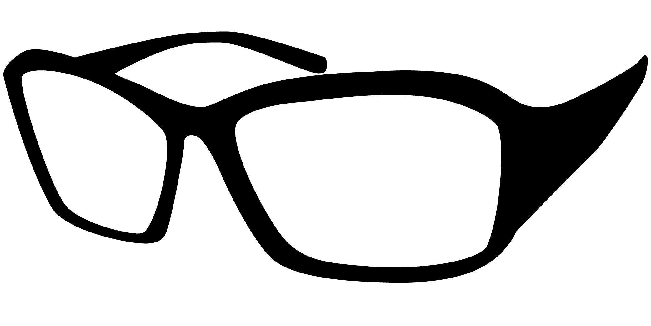 Glasses thirty two isolated. Hands clipart lense