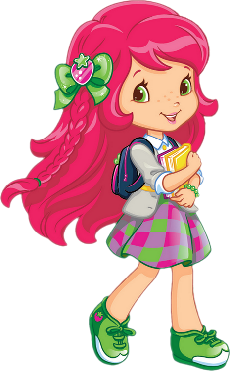 Charlotte aux fraises png. Clipart person chilly