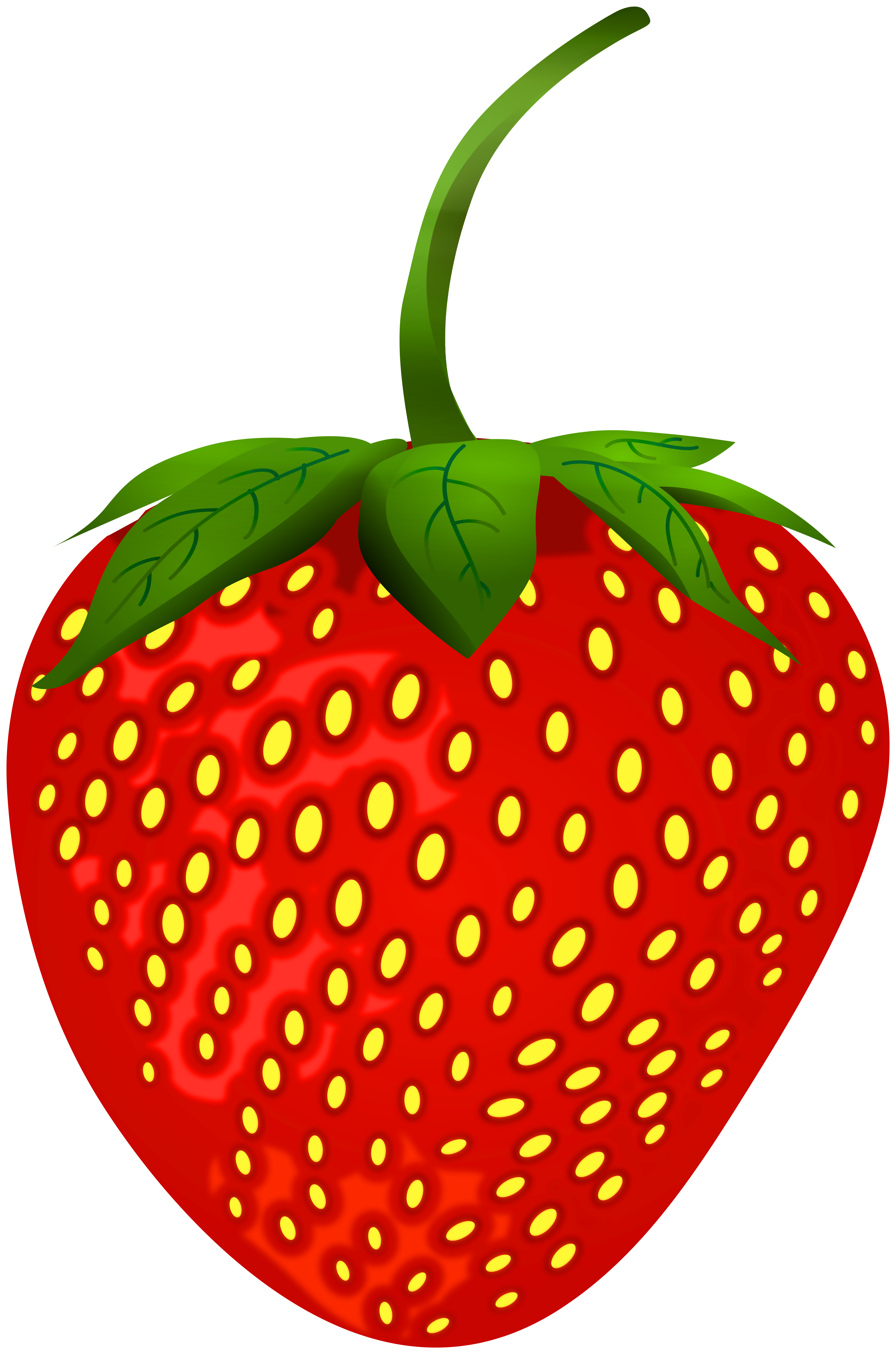 Strawberry png clip art. Strawberries clipart round fruit