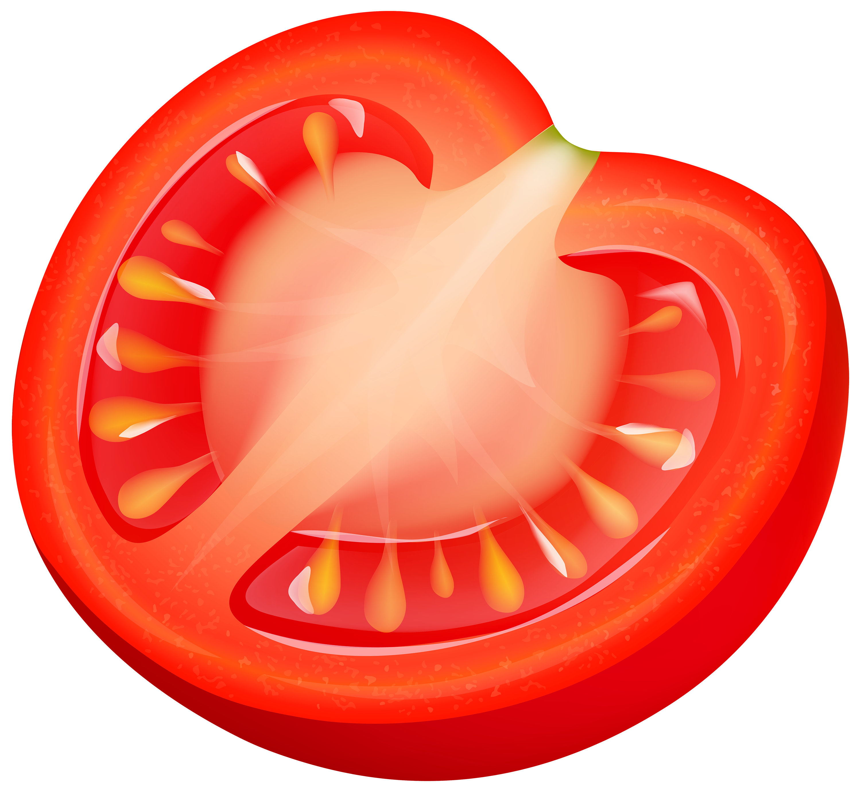 Half tomatto png best. Watermelon clipart makanan