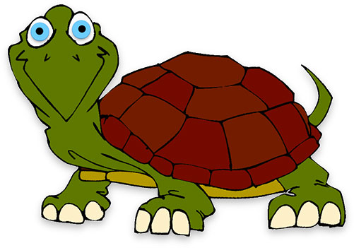 Free animations . Clipart turtle animation