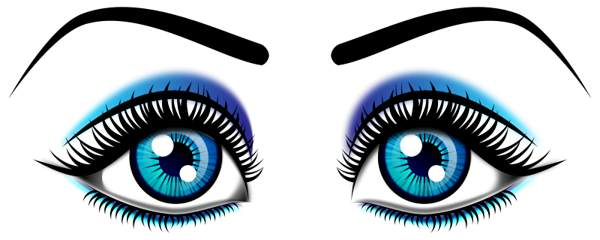 Clipart eyes. Eye clip art black