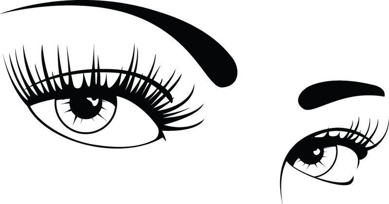Clip art women s. Clipart eyes