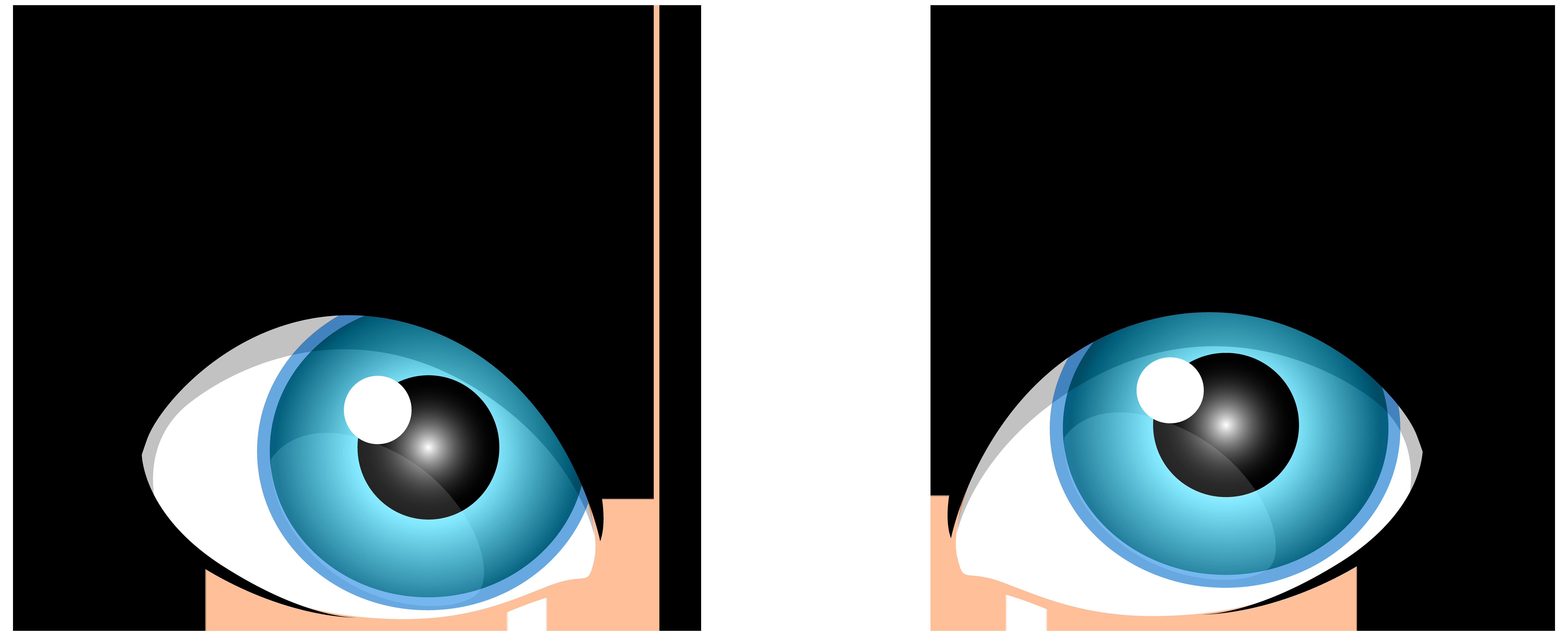 Blue female eyes png. Clipart bat eye