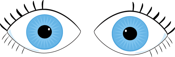 Free cliparts download clip. Eyes clipart blue