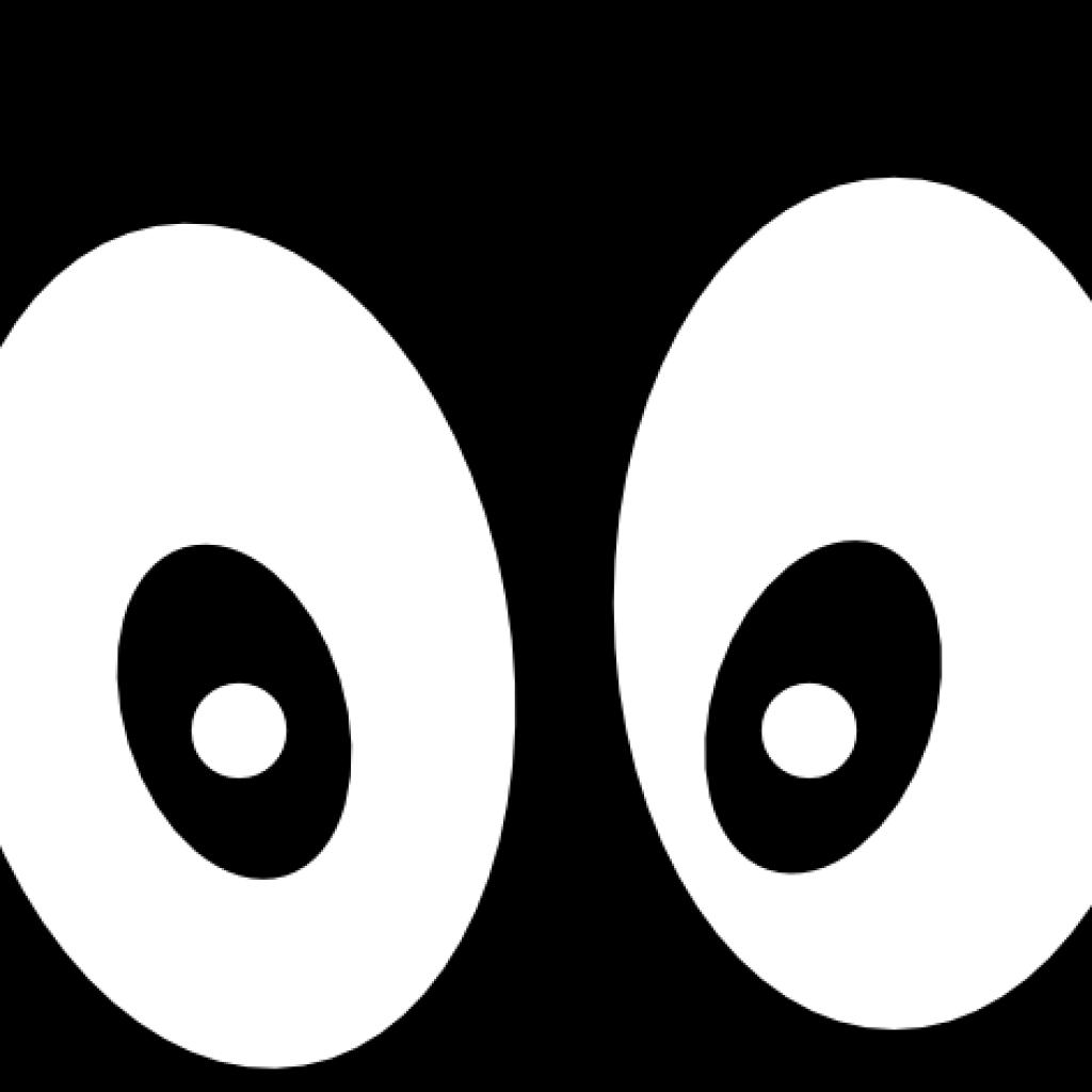 Eyes beach hatenylo com. Eyeballs clipart black and white