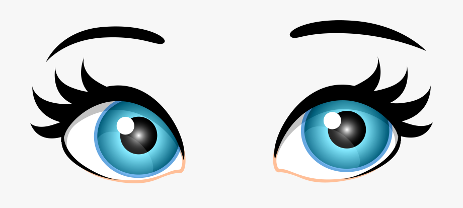 Eyes clipart blue. Female png clip art