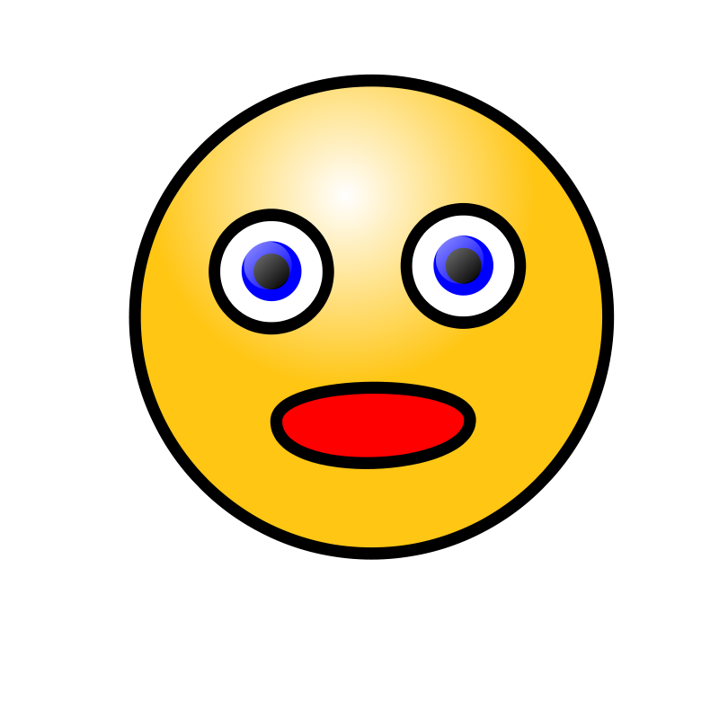 Wow clipart face. Amazement panda free images