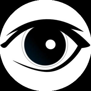 Eyeball clipart dark eyes. Free clip art download