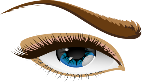 Eyeballs clipart colourful. Free eyebrow cliparts download