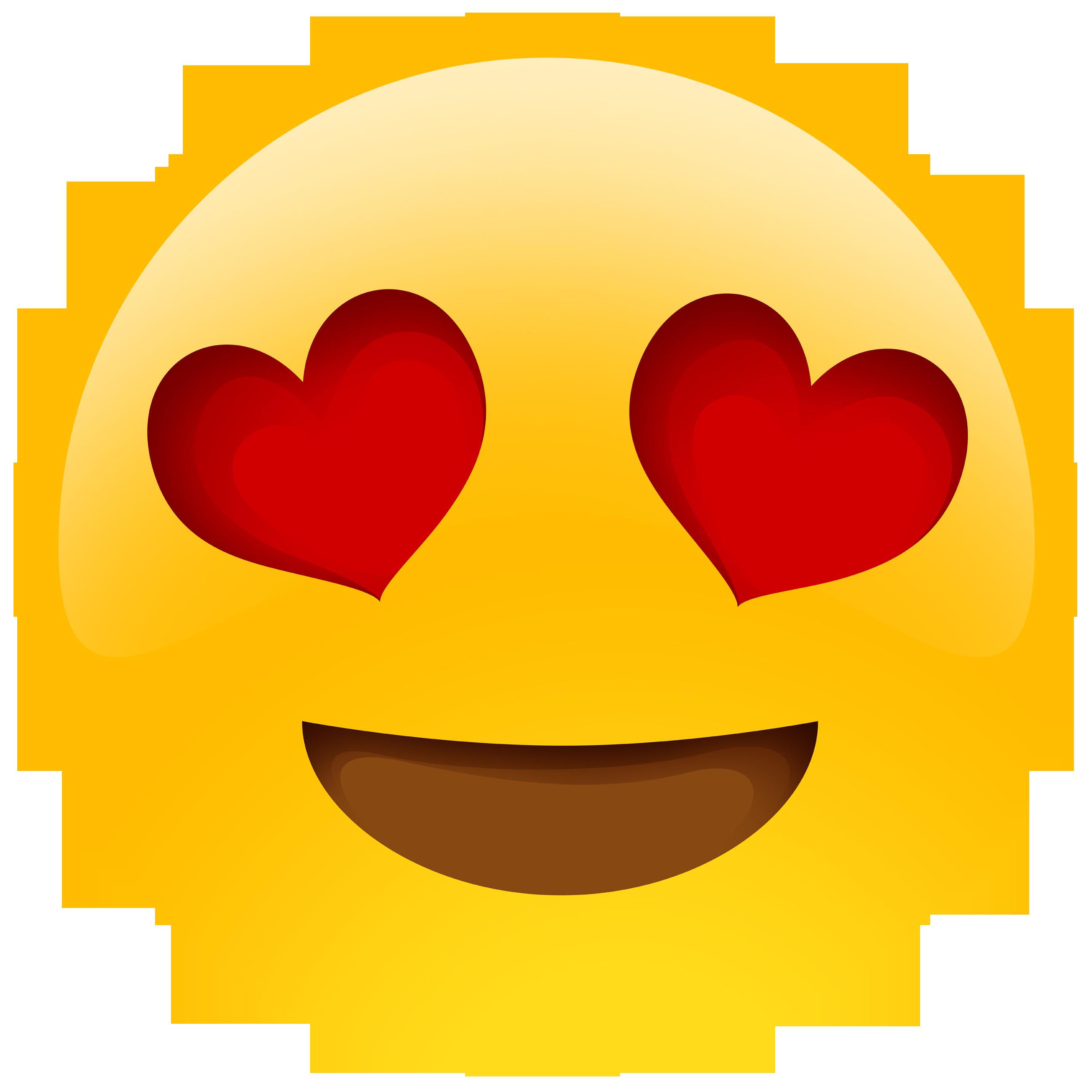 Clipart eyes emotion.  pack heart emoji