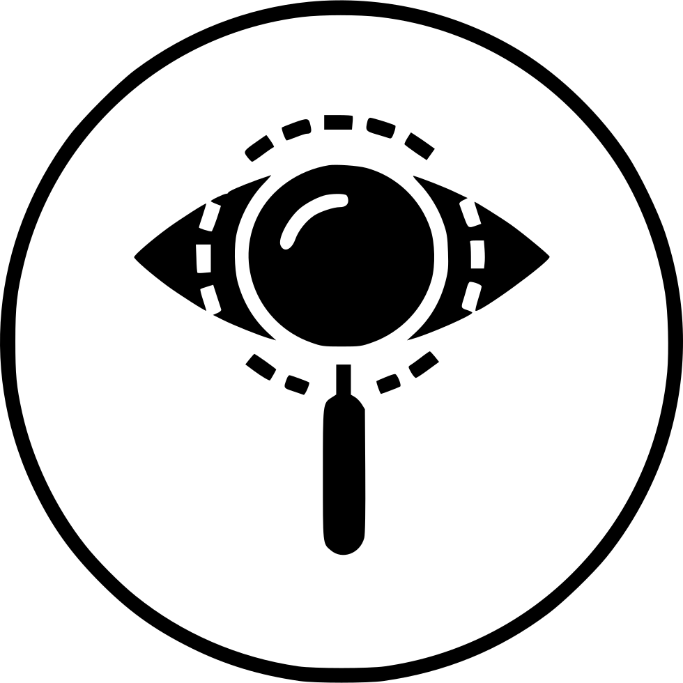Eye mission view find. Future clipart vision statement