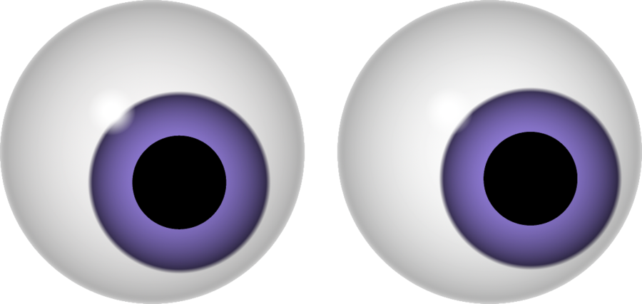 collection of spooky. Eyes clipart number