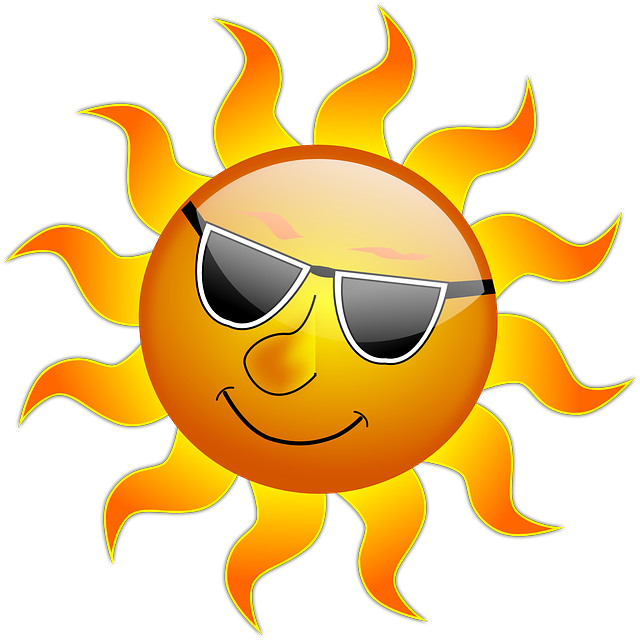 Macular degeneration association protect. Heat clipart sweltering