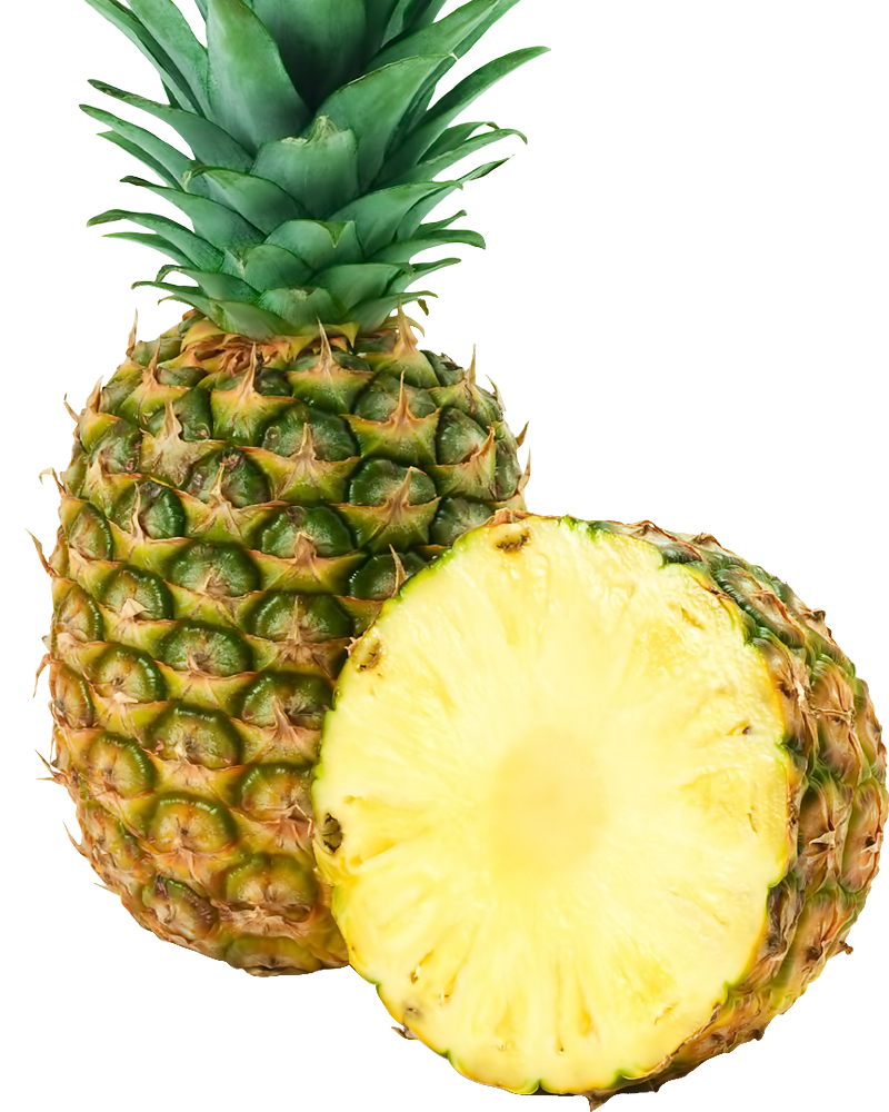 Twenty six isolated stock. Pineapple clipart transparent