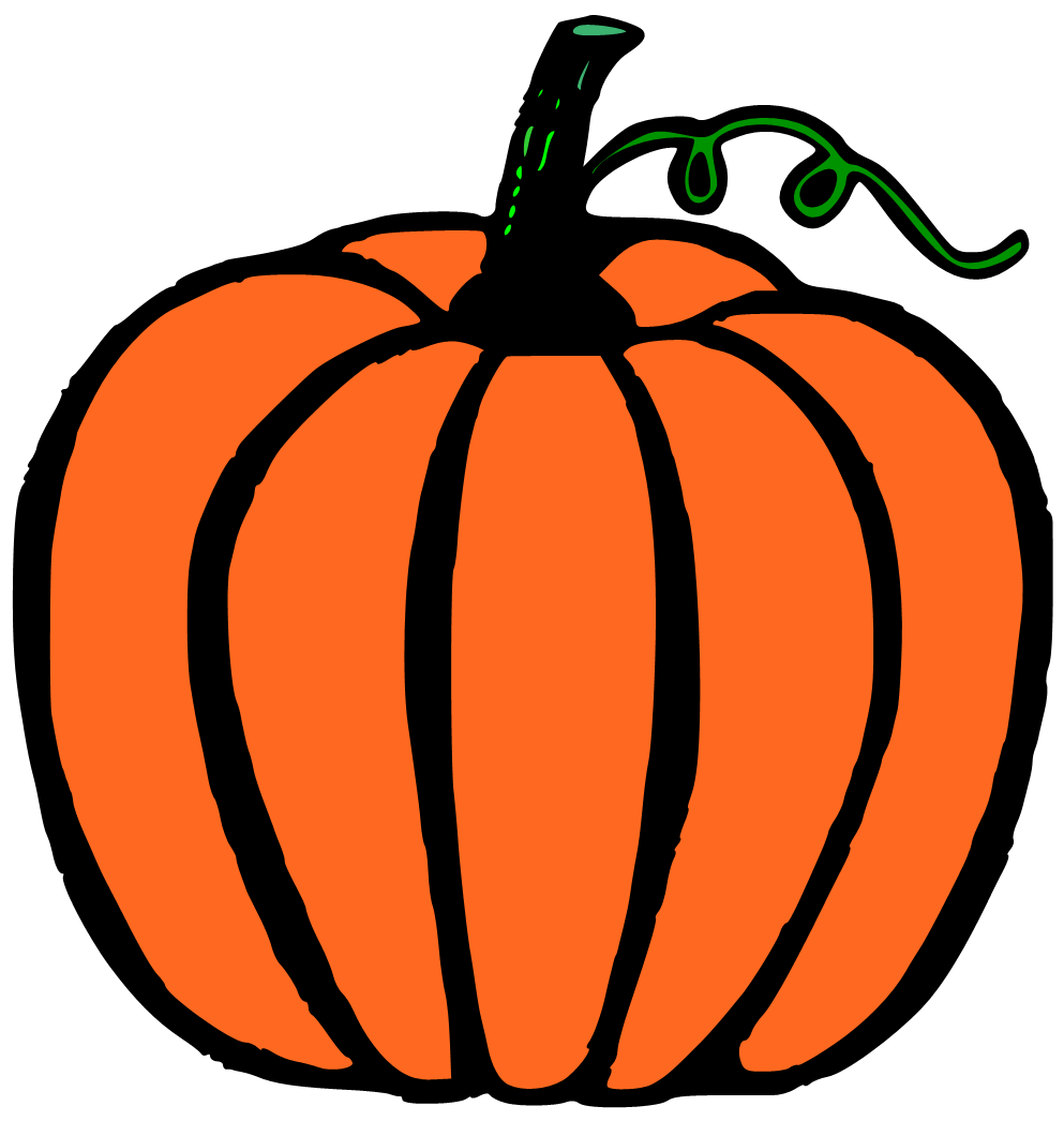 Festival clipart halloween. Big pumpkin and little