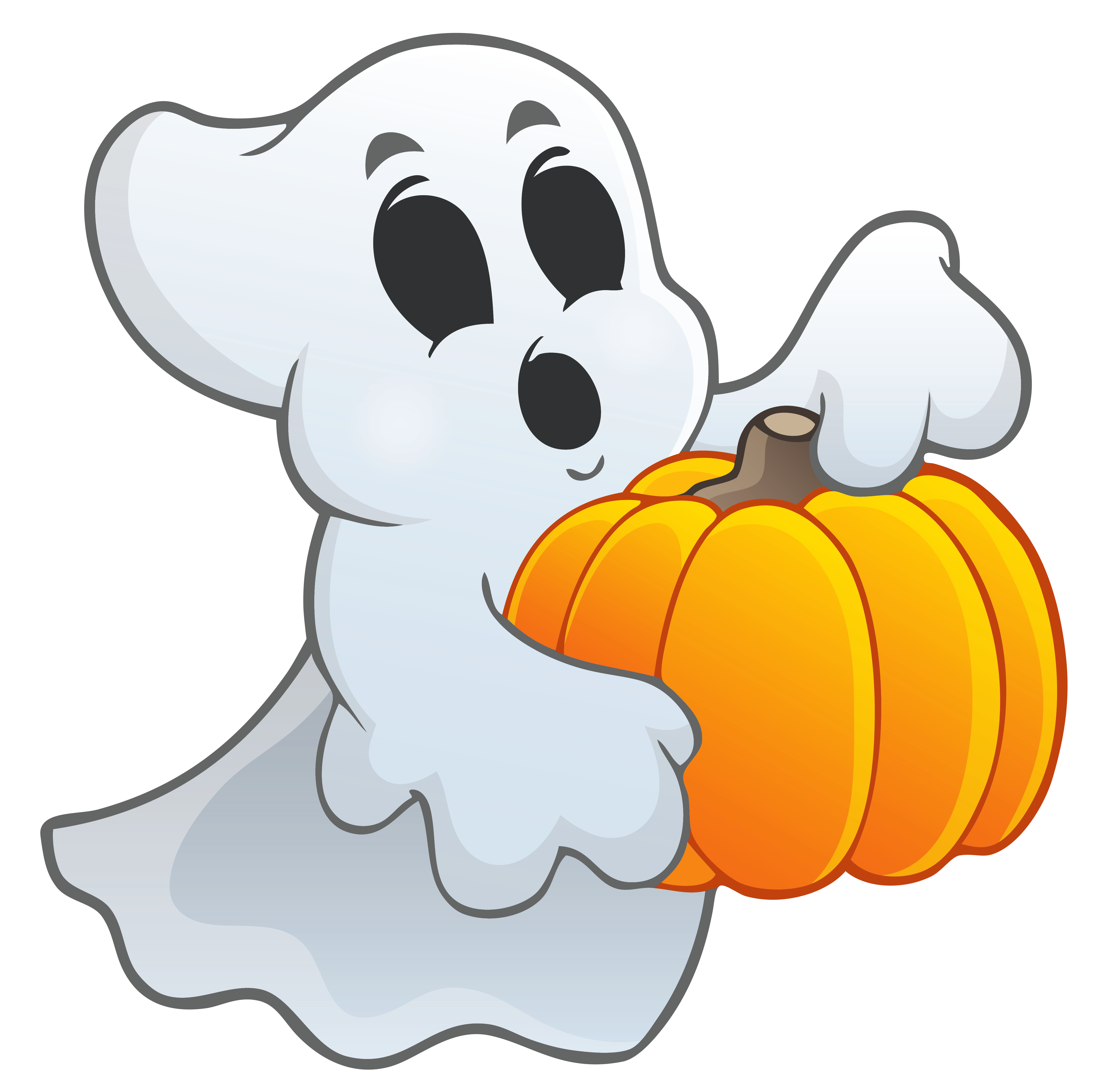 collection of ghost. Clipart halloween goblins