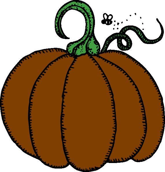 Brown clip art at. Pumpkin clipart squash
