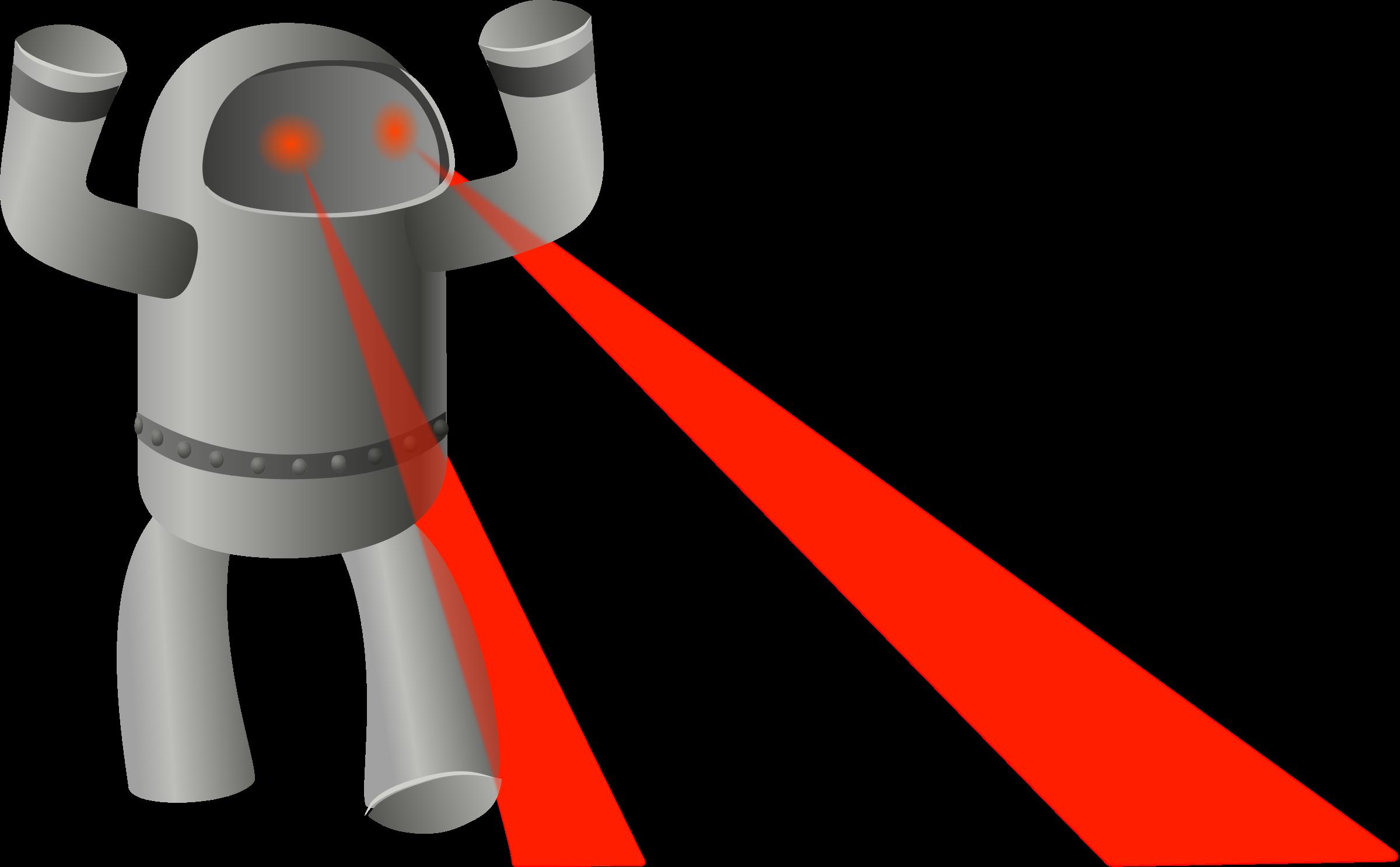 Rampaging big image png. Eyes clipart robot