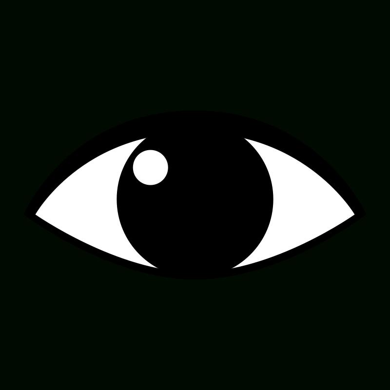 Eyeball clipart logo. Great of simple eye